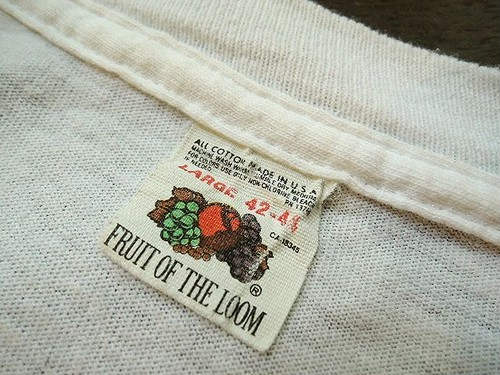 "80's ""Fruit of the Loom"" T-Shirt"