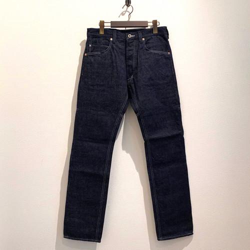 REGULAR TIGHT STRAIGHT PANTS  <DENIM> (INDIGO) / GERUGA