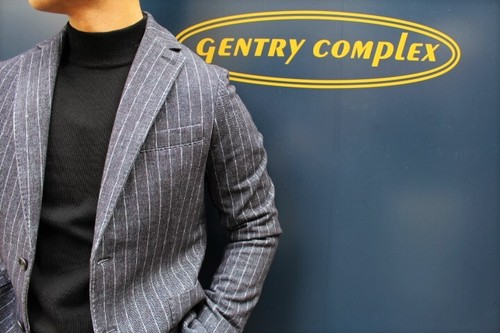 CIRCOLO 1901 Chalk Stripe Jersey Jacket