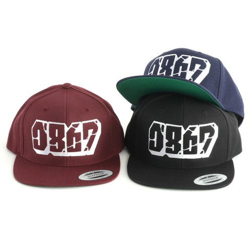 0867 / Snapback / Blockbuster / Logo / Black