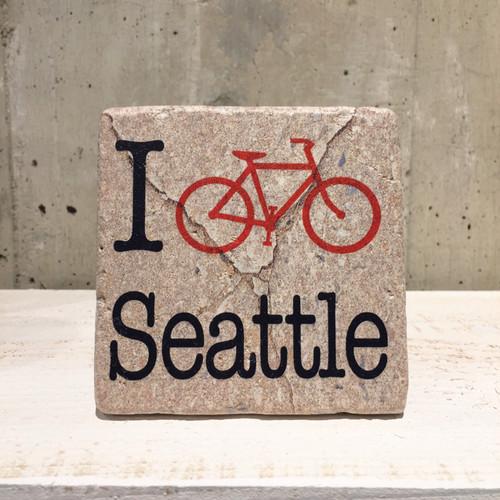 タイルコースター 【I Bike Seattle】
