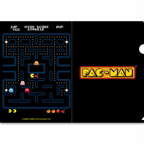 GINZA x Original PAC-MAN クリアファイル / GAMES GLORIOUS