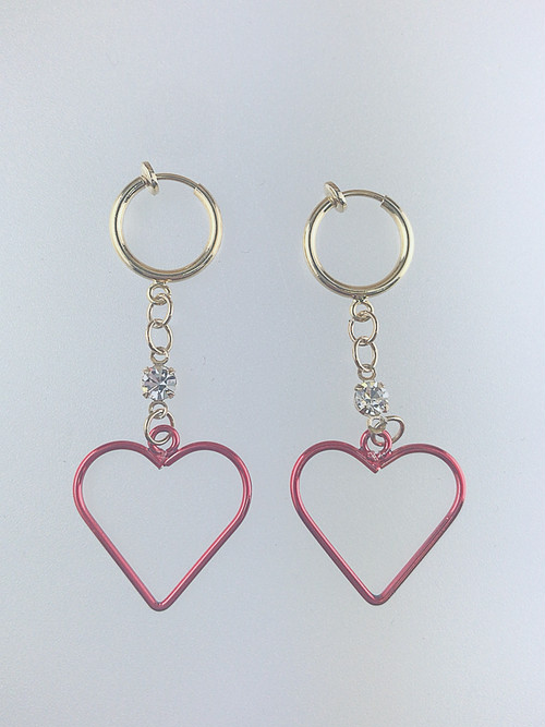 ◎SK brothers【earring 1点のみ】レッド