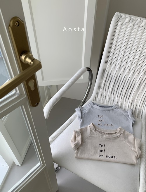 『翌朝発送』toi moi T-shirt〈Aosta〉