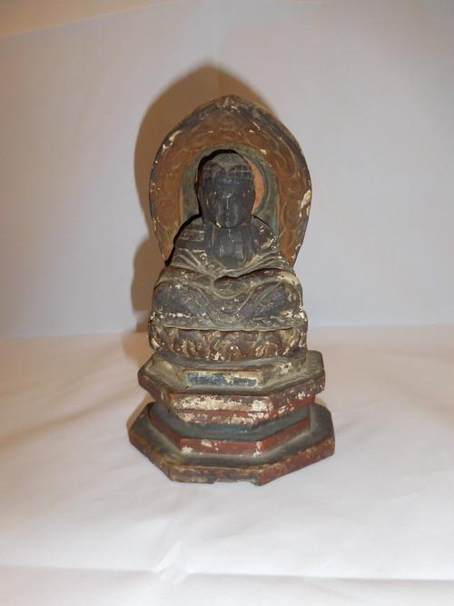阿弥陀如来像(江戸中期) Amidah Tathagata(made in Japan)