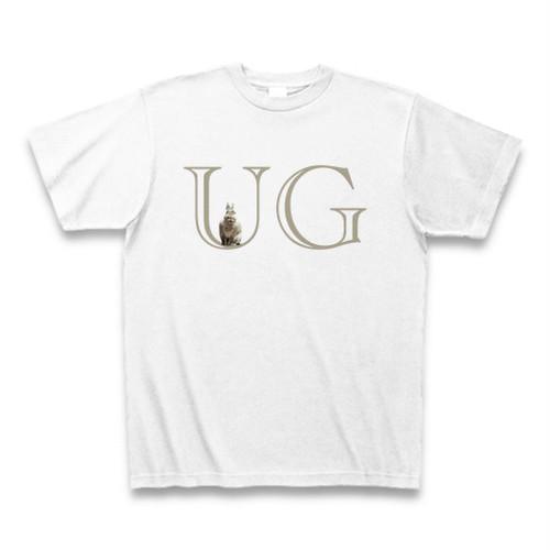 UGウサギ(ネザーランドドワーフ)TシャツC(ちょこん)