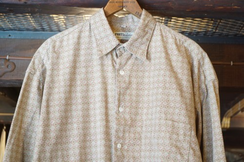 "70's FORTI & Liberi cotton Shirt ""Made in ITALY"""