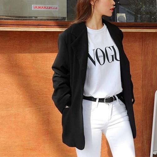 VogueシンプルTシャツ