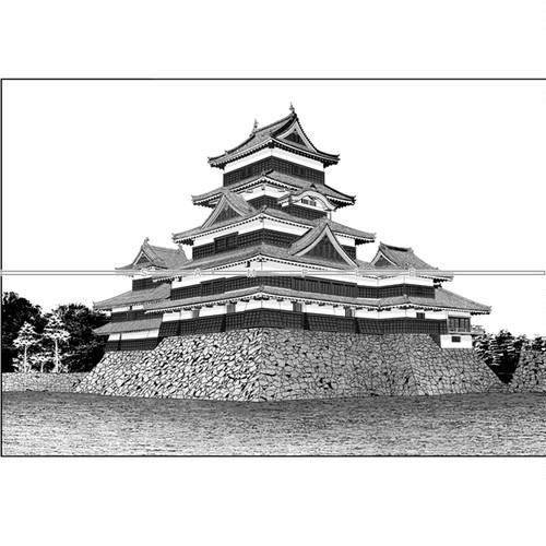 城-松本城