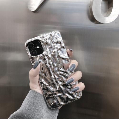 シルバー ソフトシェル iPhoneケース i9037