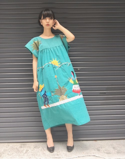 vintage Mexico dress