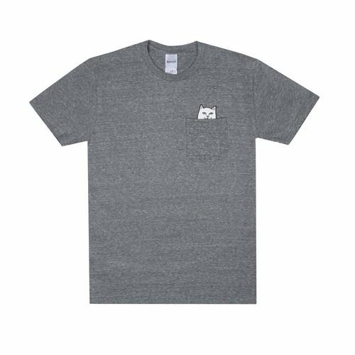 RIPNDIP - Lord Nermal Pocket Tee (Grey)
