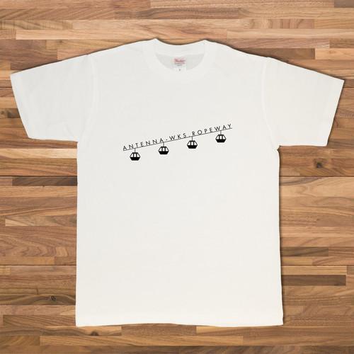 ロープウェイ Tシャツ/ホワイト【CWE-049WH】