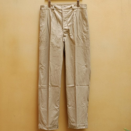 OLD FRENCH ARMY CHINO PANTS DEAD STOCK - 2