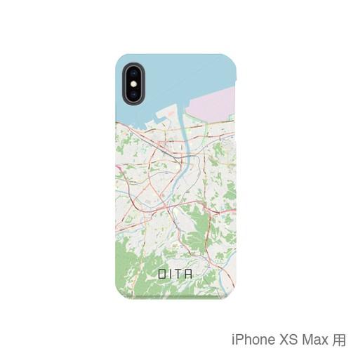 【大分】地図柄iPhoneケース(バックカバータイプ・ナチュラル)