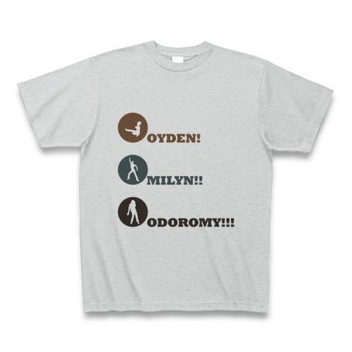 豊田市民 OIDEN ティーシャツ(おいでん・みりん・おどろまい)男性Ver.