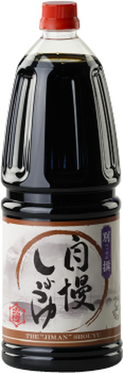 ジマン別撰醤油 1.8L×6本