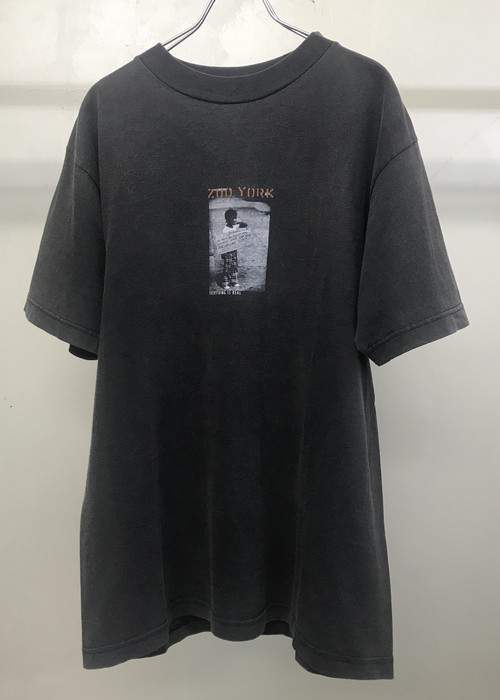 1990s ZOO YORK PRINTED T-SHIRT
