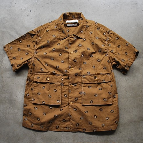 REMI RELIEF BANDANA Shirt BROWN