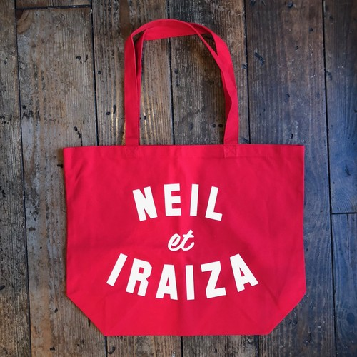 (SALE&送料無料) Neil and Iraiza RED LARGE TOTE