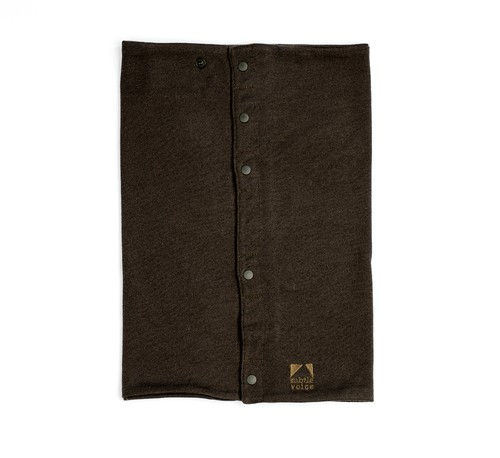 SV Wool Neck Wrap [Roast Brown]