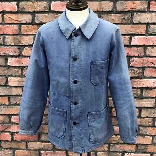 1950s-60s French Work Jacket Cotton Twill