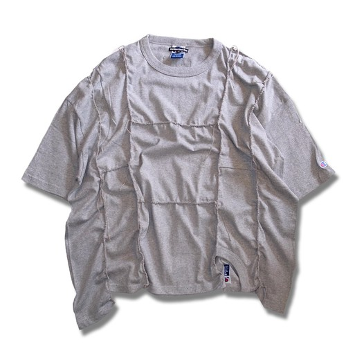 Remake Handlock Packing Champion  Tee -Gray
