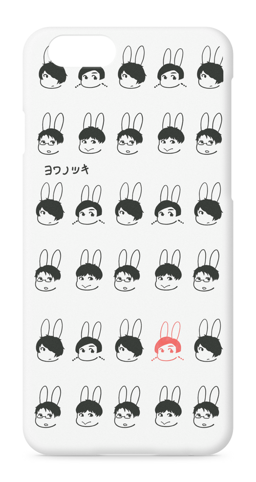 ヨワノツキ似顔絵iPhoneケース