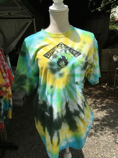 【手染め】フェスTシャツ (XL) Django Camp