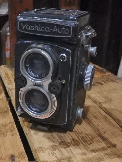 フィルムカメラ Yashica-Auto ジャンクですが希少品! 部品取り用 ヤシカ