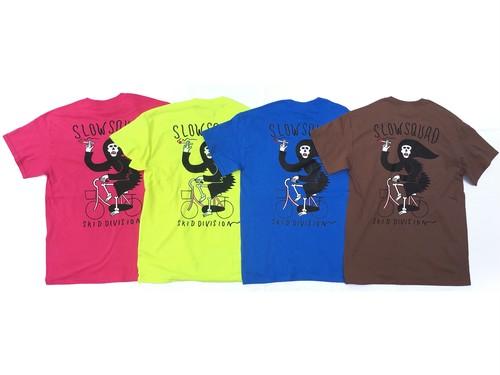 "SLOW SQUAD INTERNATIONAL ""NEXT MAMACHARI T-SHIRTS"" New color!!"