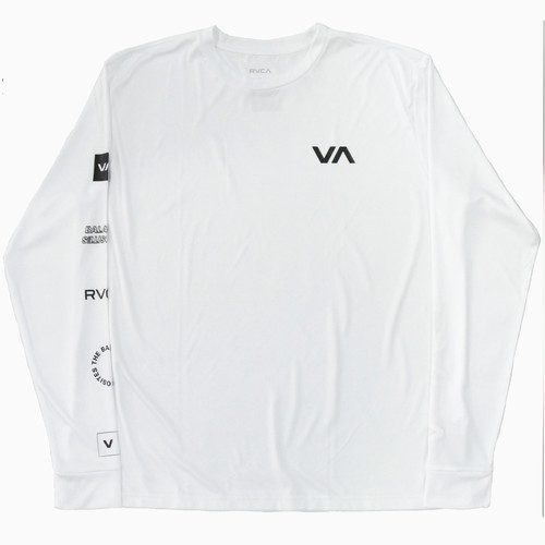 ALL OUT RVCA LS (WHITE)