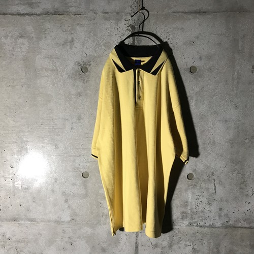 [used] black caller yellow polo pants