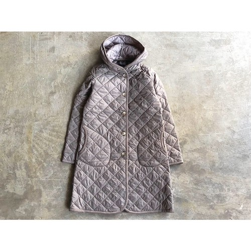 LAVENHAM (ラベンハム) 『BRUNDON』Hooded  Quilting Coat