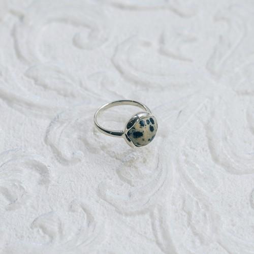 dalmatian jasper silver925