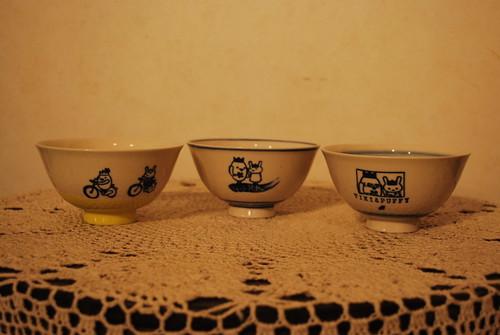 お茶碗 ~グラフィックアートTiki&Puffyシリーズ~ 【清春旅と空想の美術館】