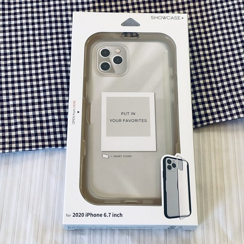 SHOWCASE+ iPhone12Pro Max対応ケース(クリア)