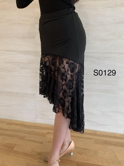 ラテン&スタンダード兼用スカート