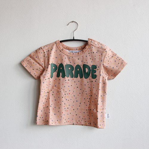 《ONE DAY PARADE 2021SS》T-SHIRT / CONFETTI