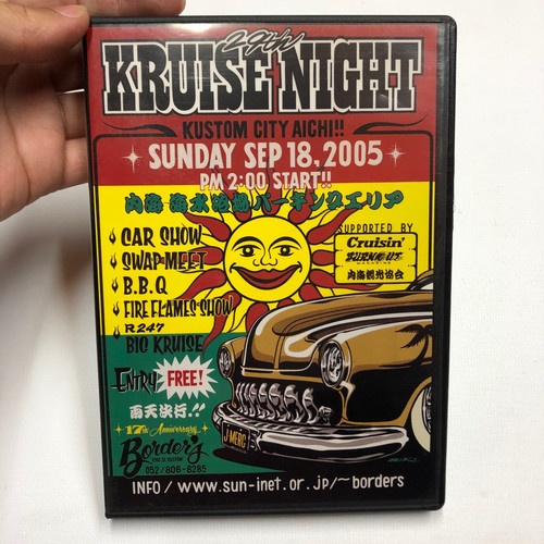 バイク系DVD Border's 29th KRUISE NIGHT 2005.9.18