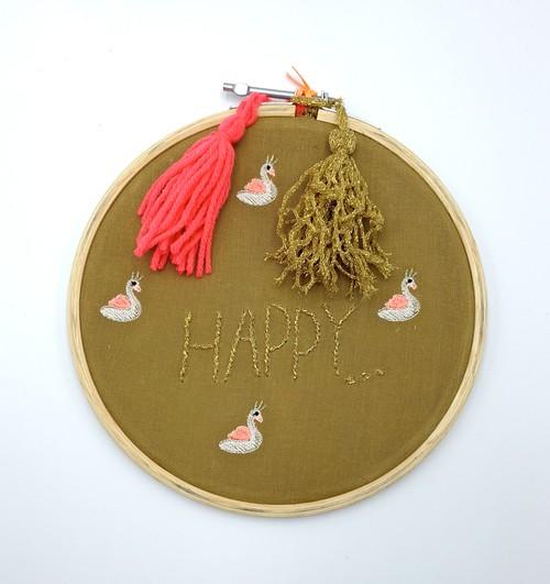Bonheur Du Jour -Wall Decoration Happy-