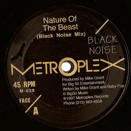 "BLACK NOISE / Nature Of The Beast (12"")"