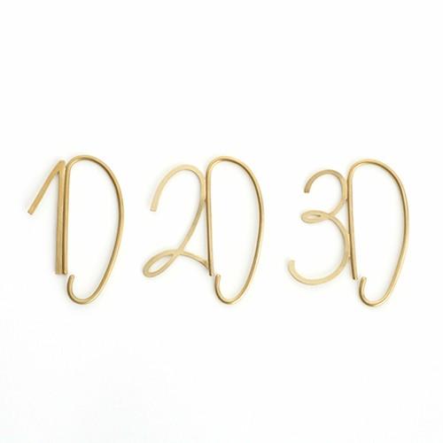 Numbers Earcuff | ナンバー イヤーカフ 【Aquvii アクビ】