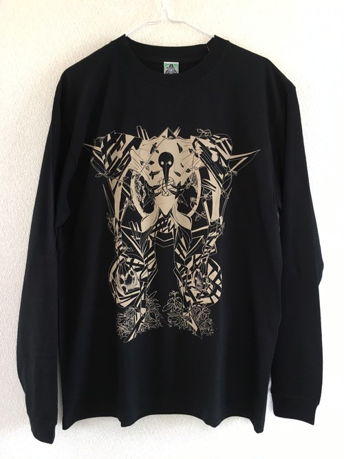 "SHIZENTOMOTEL "" 親 ""  long sleeve tee"
