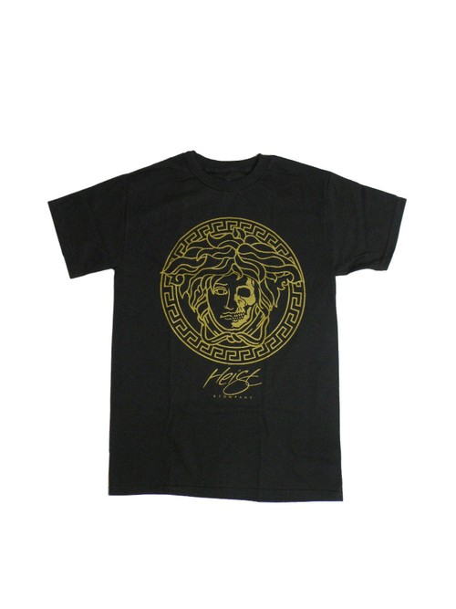 HEIST AND CO GOLD FACE KILLAH TEE BLACK