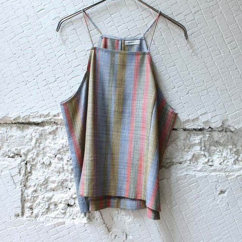 【CURRENTAGE】 Multi Stripe Cami