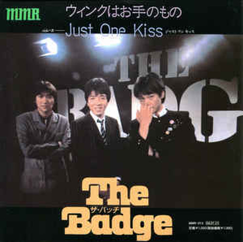 "The Badge ‎– ウィンクはお手のもの (7"") re-issue"