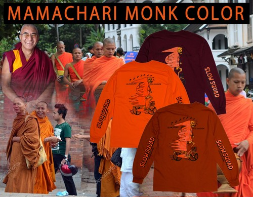 "SLOW SQUAD ""Mamachari Fire LS"" Monk color"