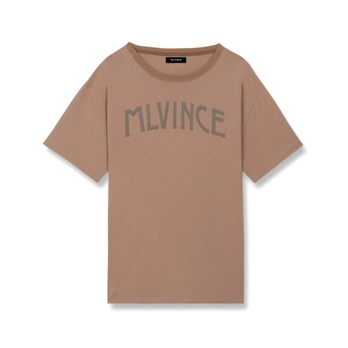 MLVINCE Arch Logo T-Shirts BROWN
