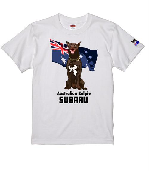 オリジナル・オーダーAK-007 オーストラリアン・ケルピー 愛犬カスタム  袖プリントあり